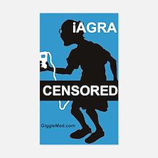 iAGRA 01 Rectangle Decal