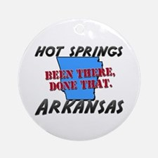 hot springs arkansas - been there, done that Ornam