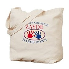 Best Zayde Hands Down Tote Bag
