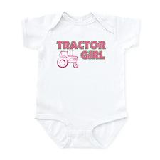 Tractor Girl Infant Bodysuit
