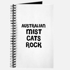 AUSTRALIAN MIST CATS ROCK Journal