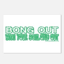 Bong Out w/ Your Schlong Out Postcards (Package of