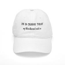 I'm in Charge Bloodhound Baseball Cap