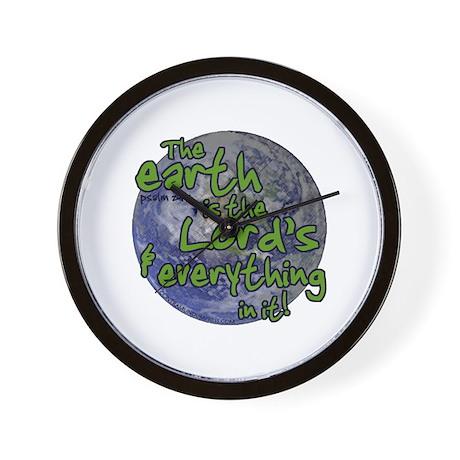 Lord's Earth Wall Clock