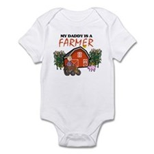 My Daddy Is A Farmer Infant Bodysuit