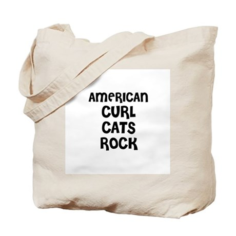 AMERICAN CURL CATS ROCK Tote Bag