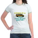 Living in a van down by the r Jr. Ringer T-Shirt