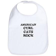 AMERICAN CURL CATS ROCK Bib