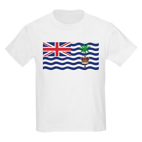 British Indian Ocean Territor Kids Light T-Shirt