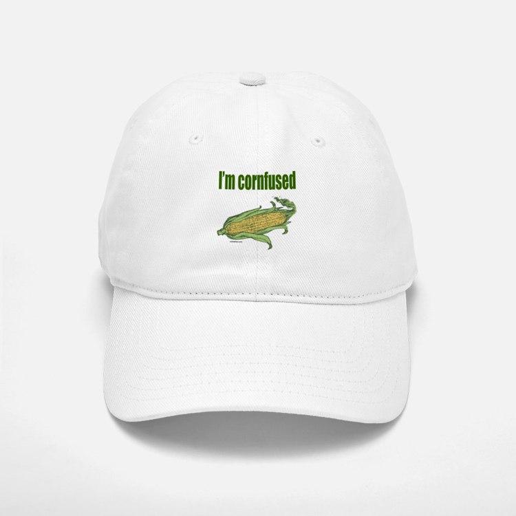 I'M CORNFUSED Baseball Baseball Cap