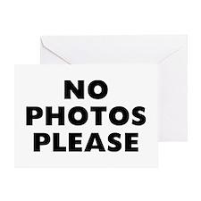 No Photos Greeting Card