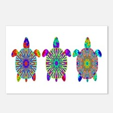 Colorful Sea Turtle Postcards (Package of 8)