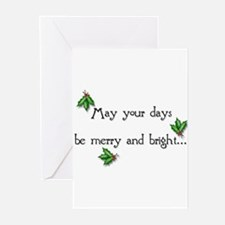 May your days... Cards (Pk of 10)