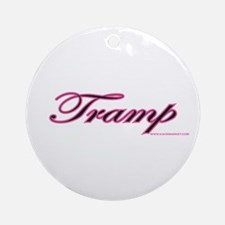 Tramp Ornament (Round)