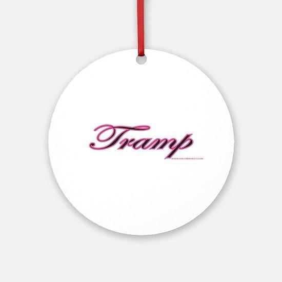 Tramp Ornament (Round)