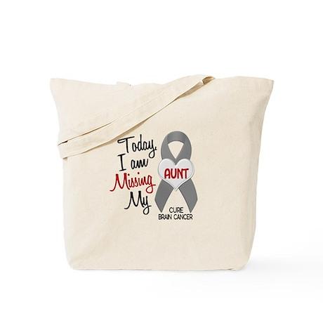 Missing 1 Aunt BRAIN CANCER Tote Bag