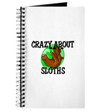 Crazy About Sloths Journal