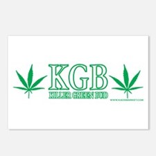 KGB - Killer Green Bud Postcards (Package of 8)