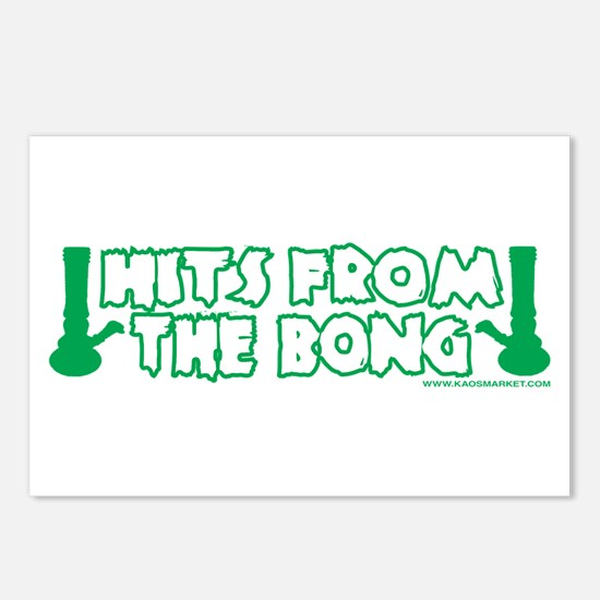 Hits From The Bong Postcards (Package of 8)