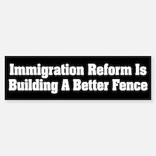 Immigration Reform Bumper Bumper Bumper Sticker