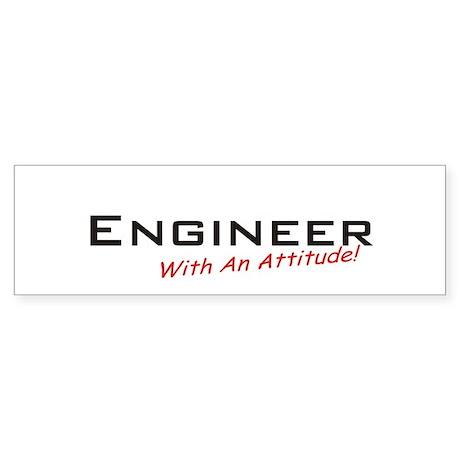Engineer / Attitude Bumper Sticker
