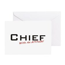 Chief / Attitude Greeting Cards (Pk of 20)