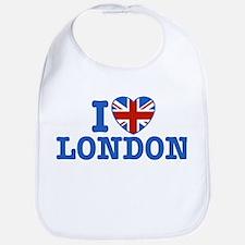 I Love London Bib