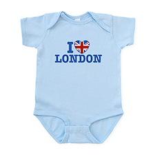 I Love London Infant Bodysuit