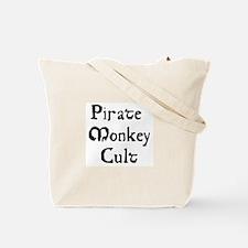 Pirate Monkey Tote Bag