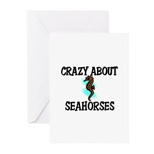 Crazy About Seahorses Greeting Cards (Pk of 10)