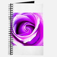 Unique Purple rose Journal