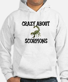 Crazy About Scorpions Hoodie