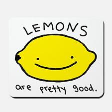 Pretty Good Lemons Mousepad