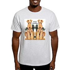 Welsh Terrier Ash Grey T-Shirt