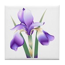 Iris Tile Coaster