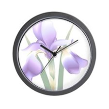 Iris Wall Clock - white
