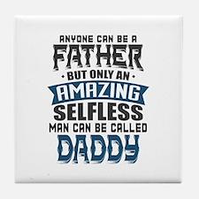 Amazing Dad Tile Coaster