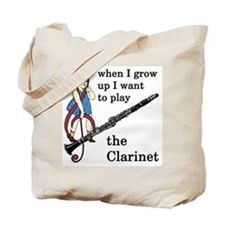 Clarinet Tote Bag