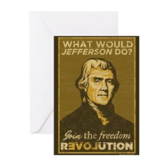 What Would Jefferson Do? Greeting Cards (Pk of 10)