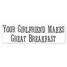 Great Breakfast Bumper Bumper Sticker