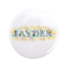 """Jayden"" with Mice 3.5"" Button"