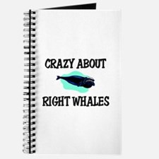 Crazy About Right Whales Journal