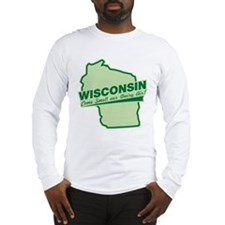 wisconsin - smell our dairy air Long Sleeve T-Shir