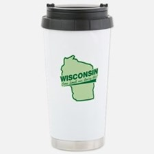 wisconsin - smell our dairy air Travel Mug