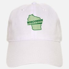 wisconsin - smell our dairy air Baseball Baseball Cap