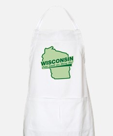 wisconsin - smell our dairy air BBQ Apron
