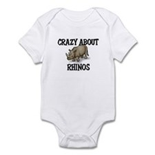 Crazy About Rhinos Onesie