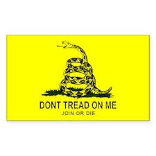 Gadsden Flag Sticker (10 pk)