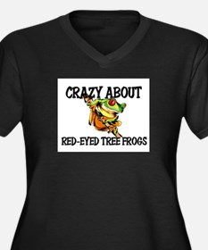 Crazy About Red-Eyed Tree Frogs Women's Plus Size