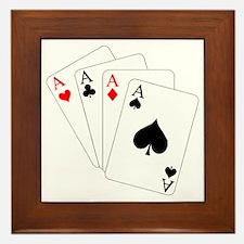 4 Aces! Framed Tile